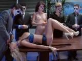Sekretářka se stala součástí perverzního rituálu