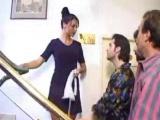 Čtyři nadrženci ošukají sexy uklízečku