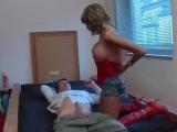 Domácí porno s kozatou německou kurvičkou