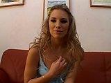 Maďarská kráska je otestována na porno castingu