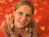 Česká holka na castingu v Holandsku