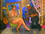 Malíř Pepa Blecha šuká prsatou blondýnku