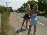 Dvě stopařky – české porno