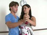 Mladík si zapíchá s učitelkou tance