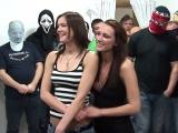 Česká pornoakce aneb gangbang s Janou a Kamilou