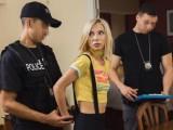 Zatčená a zneužitá policistou