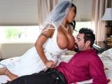 Prcání nevěsty s pořádnýma kozama