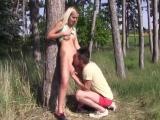 Letní sex na kraji lesa – české porno